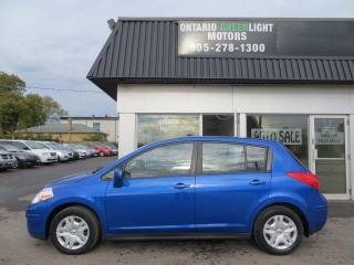 Used 2012 Nissan Versa SUPER LOW KM, 1 OWNER, CLEAN CARFAX for sale in Mississauga, ON