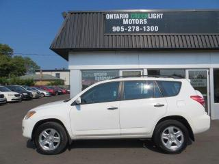 Used 2010 Toyota RAV4 4 WHEEL DRIVE, ALL POWERED, A/C, 1 OWNER for sale in Mississauga, ON