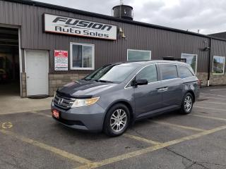 Used 2013 Honda Odyssey EX-8 PASS-REAR CAMERA-HEATED SEATS-PWR SLIDING DOO for sale in Tilbury, ON