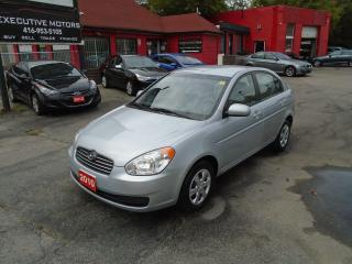 Used 2010 Hyundai Accent GL/ LOW KM / A/C / PWR OPTIONS / CRUISE /FUEL SAVE for sale in Scarborough, ON