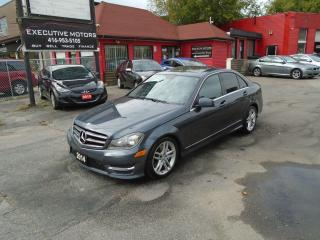 Used 2014 Mercedes-Benz C-Class C 300/ 4 MATIC / REAR CAM / NAV / SUNROOF / MINT for sale in Scarborough, ON