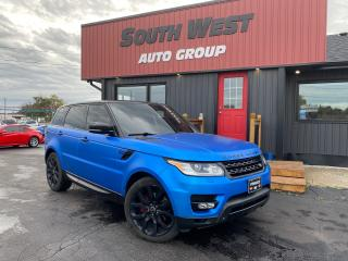 Used 2015 Land Rover Range Rover Sport V6 SuperCharged|Navi|PanoRoof|Backup|BlindSpot for sale in London, ON