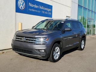 Used 2018 Volkswagen Atlas COMFORTLINE   V6 4MOTION   HTD LEATHER SEATS   VW CERTIFIED for sale in Edmonton, AB