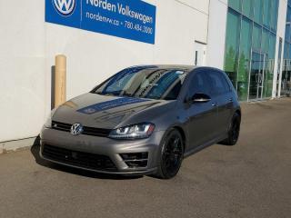 Used 2017 Volkswagen Golf R TECH PKG+ | UPGRADED WHEELS | DSG | LOW KMS CERTIFIED for sale in Edmonton, AB