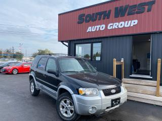 Used 2007 Ford Escape XLT|4WD|Leather Seats|Sunroof|Alloys for sale in London, ON