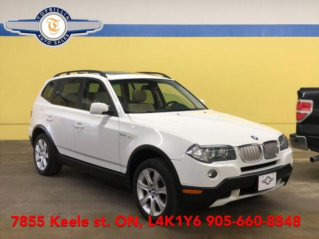 2007 BMW X3 3.0si Leather, Roof, 2 Years Warranty