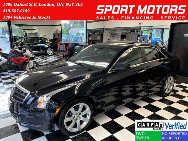 2013 Cadillac ATS Luxury+Heated Leather+New Brakes+CLEAN CARFAX