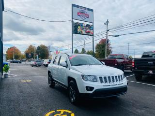 Used 2014 Jeep Compass North / 4WD / ONLY $95 BI-WEEKLY / CLEAN CAR FAX for sale in Truro, NS