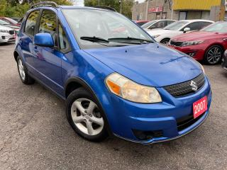 Used 2007 Suzuki SX4 JX/AUTO/AC/POWER GROUP/ALLOYS/ for sale in Scarborough, ON