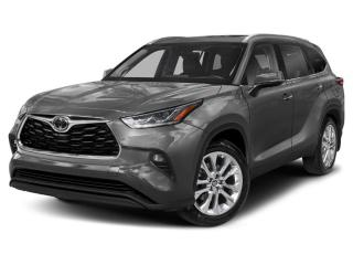 New 2021 Toyota Highlander LIMITED  for sale in Georgetown, ON