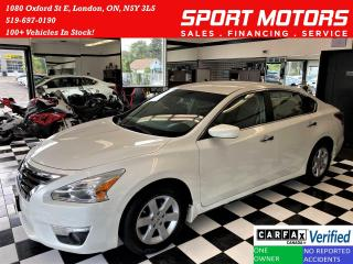 Used 2013 Nissan Altima 2.5+Bluetooth+Push Start+CLEAN CARFAX for sale in London, ON
