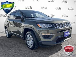 Used 2018 Jeep Compass Sport Manual Cloth/Heated Seats/Alloy Wheels for sale in St Thomas, ON