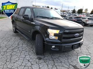 Used 2015 Ford F-150 Lariat | CLEAN CARFAX | ALLOYS | TRAILER TOW PKG | KEYLESS ENTRY | for sale in Barrie, ON