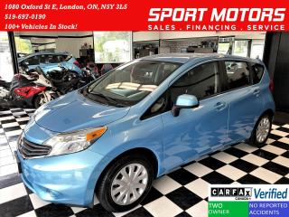Used 2014 Nissan Versa Note SV+Camera+Bluetooth+AUX+CLEAN CARFAX for sale in London, ON