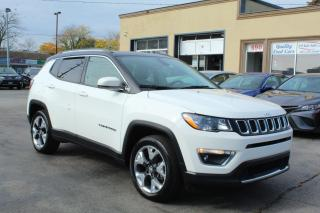 Used 2017 Jeep Compass LIMITED for sale in Brampton, ON