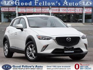 Used 2018 Mazda CX-3 GS SKYACTIV, NAVI, BACKUP CAMERA, BLIND SPOT, LDW for sale in Toronto, ON