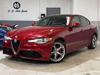 Used 2017 Alfa Romeo Giulia Ti Q4 SPORT PKG|NAV|BLIND SPOT|BACK UP|ONE OWNER| for sale in Oakville, ON