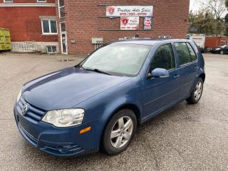 Used 2008 Volkswagen City Golf 2L/NO ACCIDENTS/SAFETY INCLUDED for sale in Cambridge, ON