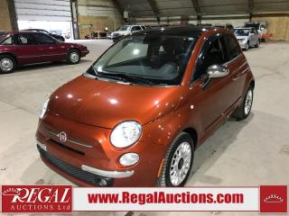 Used 2014 Fiat 500 Lounge for sale in Calgary, AB