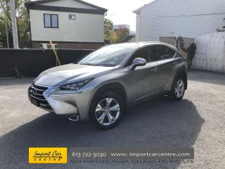 Used 2015 Lexus NX 200t EXECUTIVE PKG  HUD  LEATHER ROOF  NAVIGATION  HEAT for sale in Ottawa, ON