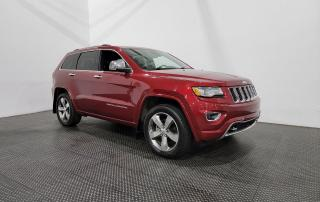 Used 2015 Jeep Grand Cherokee AWD AUTOMATIQUE NAVIG. - Toit ouvrant - Cuir for sale in Laval, QC