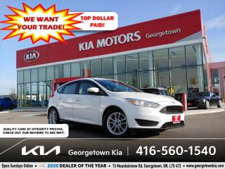 Used 2015 Ford Focus SE | B/UP CAM | BLUETOOTH | PWR GROUP | ALLOYS for sale in Georgetown, ON