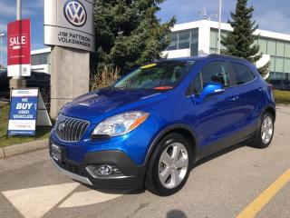 Used 2016 Buick Encore Leather, Sunroof, Rear Camera, Finance Available! for sale in Surrey, BC