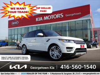 Used 2017 Land Rover Range Rover Sport V6 HSE | CLN CRFX | NAV | PANO ROOF | 58K | BU CAM for sale in Georgetown, ON