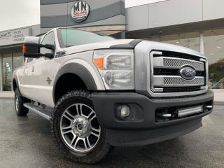 Used 2016 Ford F-350 PLATINUM 4WD DIESEL LEATHER SUNROOF NAVI CAMERA for sale in Langley, BC