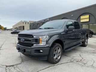 Used 2018 Ford F-150 XLT 4WD SuperCrew. Sport 4x4. CarPlay, Driver Assist, Loaded for sale in Concord, ON
