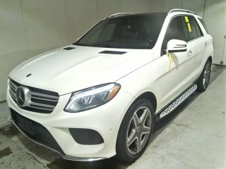 Used 2018 Mercedes-Benz GLE-Class GLE400 4MATIC. Driver Assist. Navi, Cam, Roof, Clean CarFax! for sale in Concord, ON