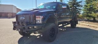 Used 2009 Ford F-350 Super Duty SRW F350 LARIAT Crew Cab DIESEL *FULLY LOADED***403-966-2131*** for sale in Calgary, AB