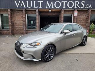 Used 2014 Lexus IS 350 4dr Sdn AWD, F SPORT for sale in Brampton, ON