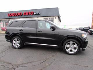 Used 2014 Dodge Durango Limited AWD DVD Navigation Camera Certified for sale in Milton, ON