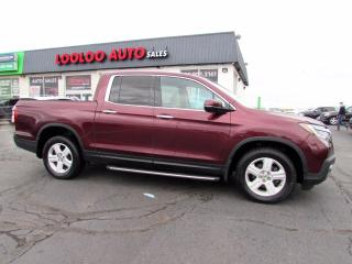 Used 2017 Honda Ridgeline RTL-E AWD Touring 3.5L Navigation Sunroof Certified for sale in Milton, ON