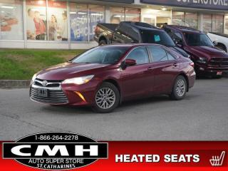 Used 2016 Toyota Camry LE  CAM BLUETOOTH P/SEAT HTD-SEATS 16-AL for sale in St. Catharines, ON