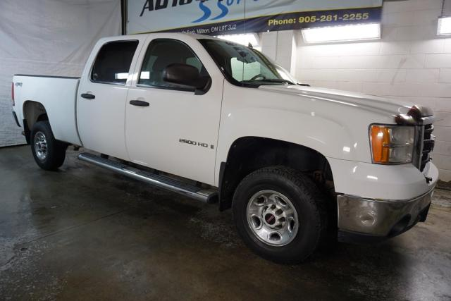 2009 GMC Sierra 2500 HD V8 4x4 CREW CERTIFIED CRUISE RUNNING BOARDS BED LINER
