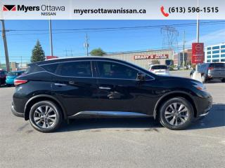 Used 2017 Nissan Murano SL  - Sunroof -  Navigation for sale in Ottawa, ON