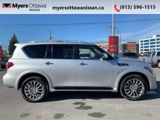 Used 2015 Infiniti QX80 4DR SUV 8-PASS 4W for sale in Ottawa, ON