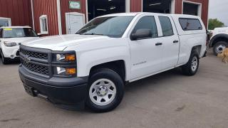 Used 2015 Chevrolet Silverado 1500 Work Truck Double Cab 2WD for sale in Dunnville, ON