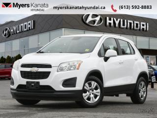 Used 2013 Chevrolet Trax LS  - $71 B/W - Low Mileage for sale in Kanata, ON