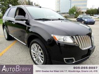 Used 2013 Lincoln MKX AWD Accident Free, One Owner! for sale in Woodbridge, ON