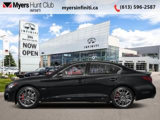 New 2022 Infiniti Q50 Red Sport I-LINE  - Leather Seats for sale in Ottawa, ON