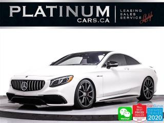 Used 2017 Mercedes-Benz S-Class AMG S 63 4MATIC Coupe, NAV, 360CAM, HEATED SEATS for sale in Toronto, ON