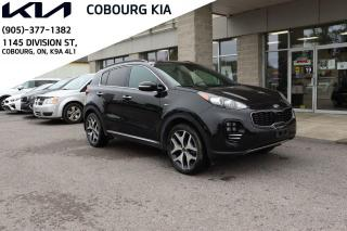 Used 2018 Kia Sportage SX TURBO for sale in Cobourg, ON