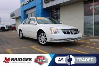 Used 2008 Cadillac DTS DTS**Front and Rear Heated Seats | Heated Steering | Extra Set of Tires| AS TRADED SPECIAL** for sale in North Battleford, SK