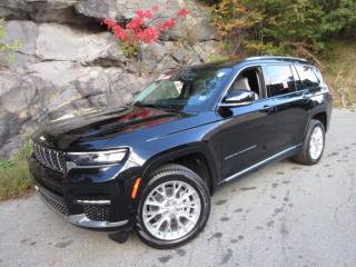 New 2021 Jeep Grand Cherokee L Summit for sale in Halifax, NS