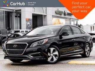 Used 2016 Hyundai Sonata Hybrid Limited Heated Seats & Wheel Panoramic Roof Navigation for sale in Thornhill, ON