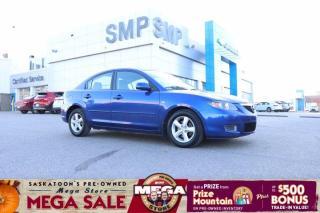 Used 2007 Mazda MAZDA3 GS- Auto, Keyless Entry, Alloys for sale in Saskatoon, SK