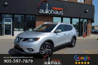 Used 2016 Nissan Rogue SL I LEATHER I NAVI I PANORAMIC ROOF for sale in Concord, ON